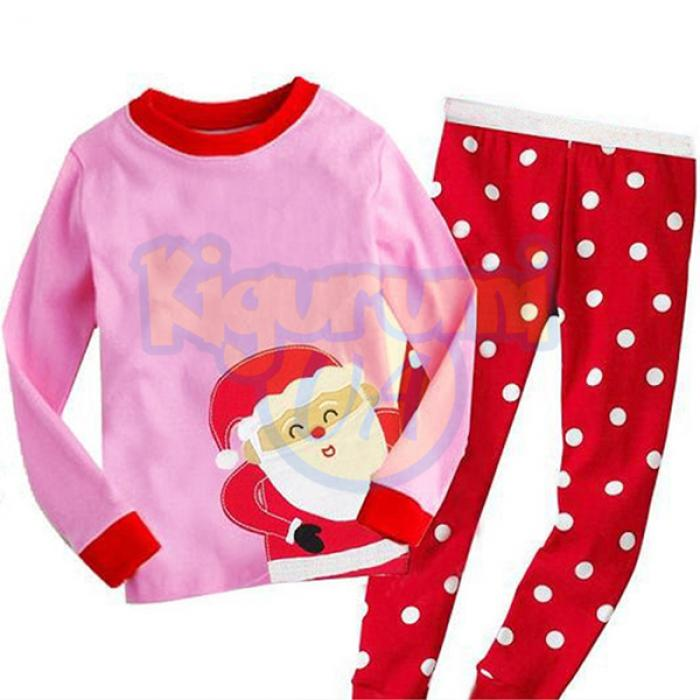 Детская пижама Санта Клаус 25fcb65e91873